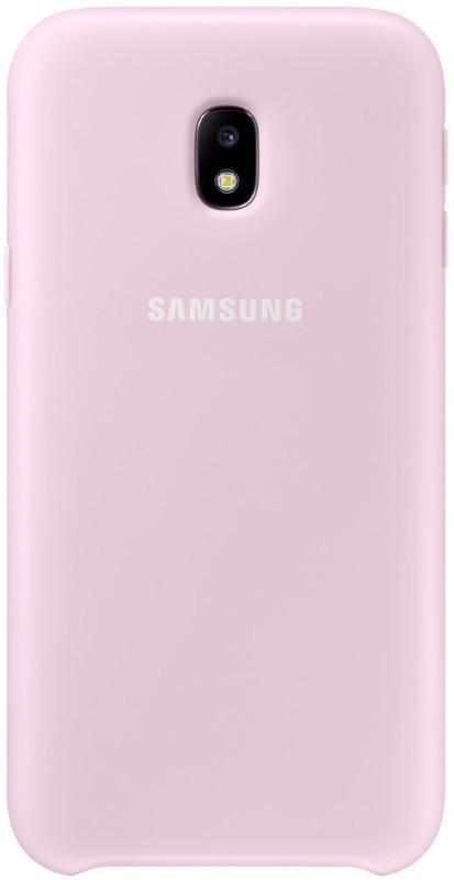 Чохол-накладка Samsung EF-PJ330CPEGRU для Samsung J330 J3(2017) Dual Layer ser. Pink