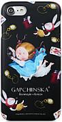Чохол-накладка Avatti для iPhone 7/8 Gapchinska PC Аліса Чорний /Доп. Реальність