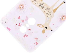 Чохол-накладка для Xiaomi Redmi Note 4X Cute Print ser. Малюнок Бембі Прозорий/безколірний, фото 3