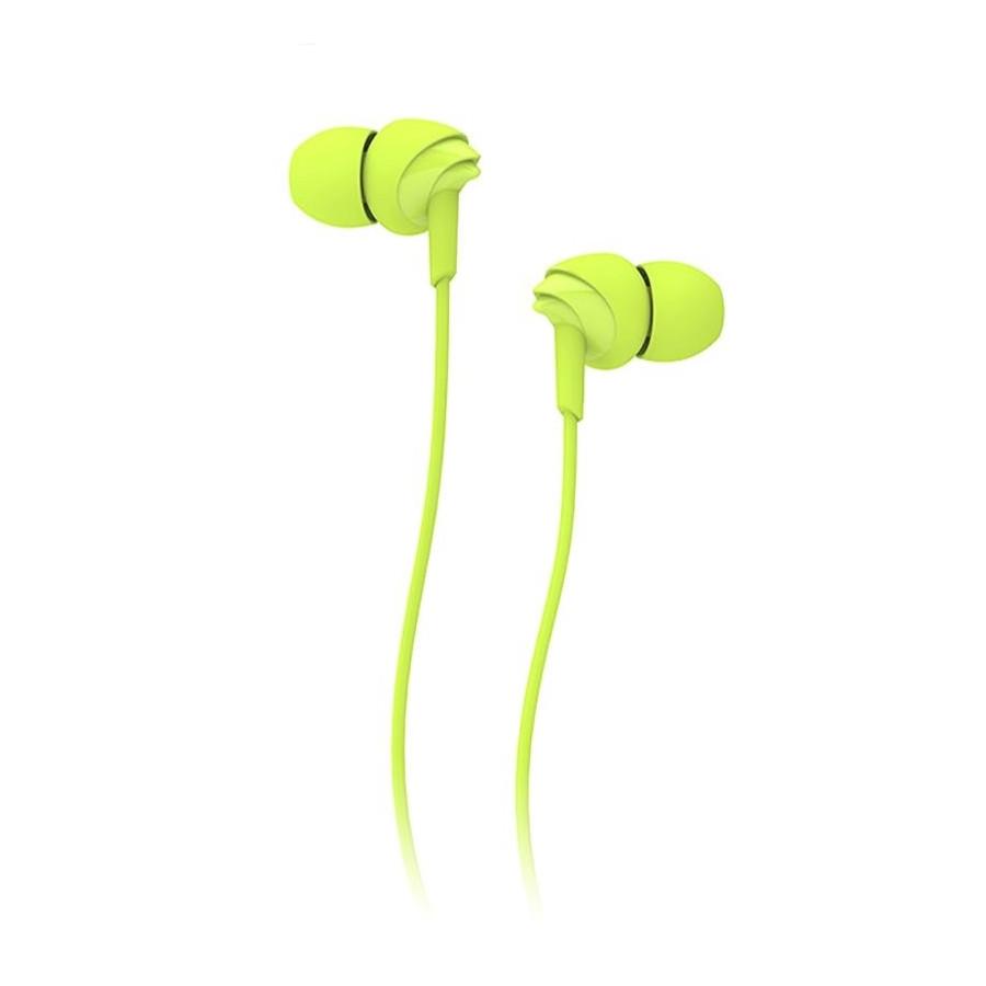Наушники ROCK Y1 (RAU0526) / с микрофоном / Зеленый