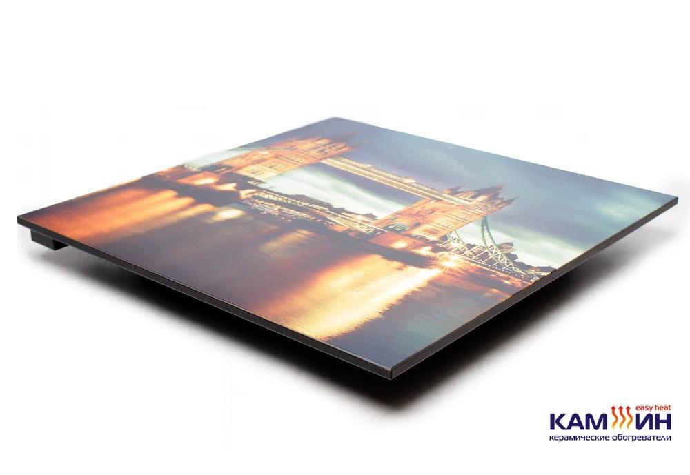 Керамический обогреватель КАМ-ИН 950СT с рисунком и терморегулятором Украина