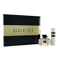 Gucci Flora by Gucci туалетная вода 75 ml + туалетная вода 15 ml (REFILL) женский НАБОР