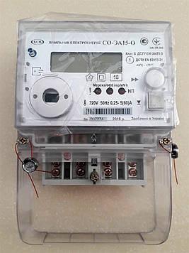 Счетчик электрической энергии СО-ЭА15-О 60А многотарифный