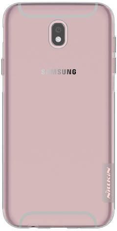 Чохол-накладка Nillkin для Samsung J530F J5(2017) Nature ser. Прозорий/сірий(143449), фото 2