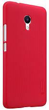 Чехол накладка Nillkin для Meizu M5s Matte ser. + Пленка Красный (137752), фото 2