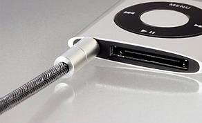 Аудіо кабель Hama Jack 3.5мм-Jack 3.5мм 200см Чорний, фото 2
