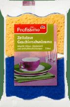 Губки для миття посуду Profissimo Geschirrschwämme Zellulose, 2 St