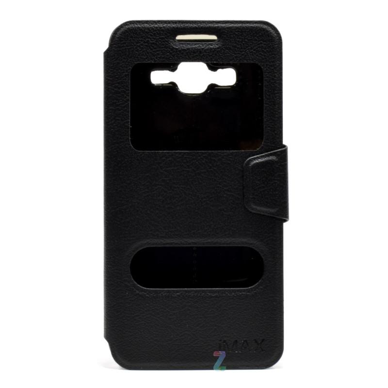 Чехол книжка iMAX для Samsung G532F J2 Prime (2016) Smart Case ser. черный