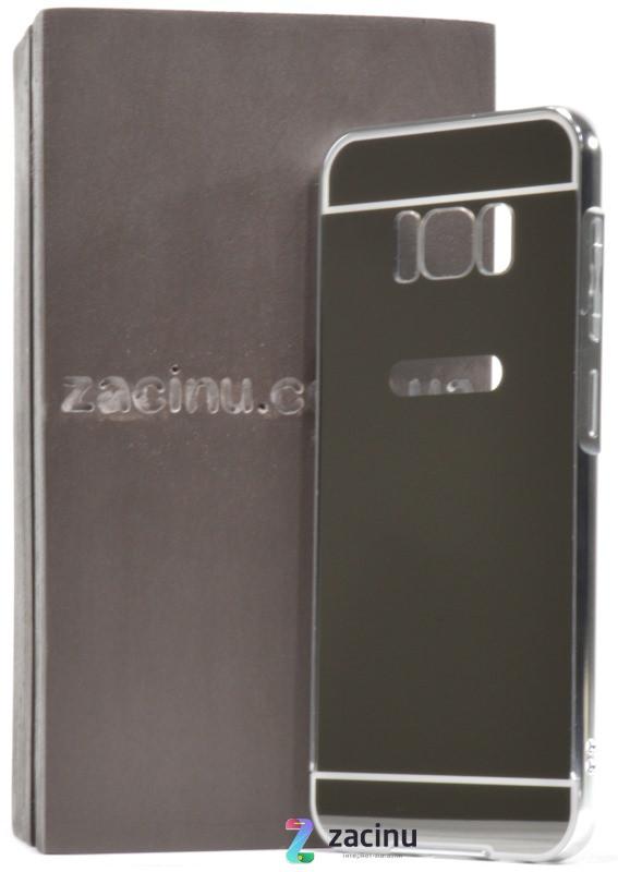 Чохол-бампер для Samsung G950 S8 з акриловою вставкою Сріблястий(371987)