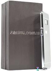 Чохол-бампер для Samsung G950 S8 з акриловою вставкою Сріблястий(371987), фото 3