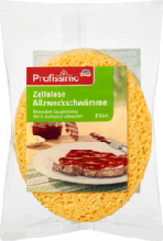 Губки для миття посуду Profissimo Allzweckschwämme Zellulose, 3 St