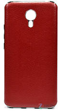 Чохол-накладка для Meizu M3 Note Slenky Image ser. Червоний, фото 3