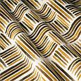 Красивая ткань для штор коричневая со штрихами, фото 2