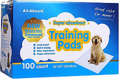 Пеленки для собак All Absorb Регуляр 56х58см (по-штучно)