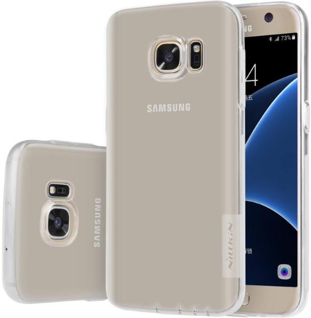 Чохол-накладка Nillkin для Samsung G930F S7 Nature ser. Прозорий/безколірний