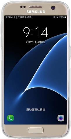 Чохол-накладка Nillkin для Samsung G930F S7 Nature ser. Прозорий/безколірний, фото 2