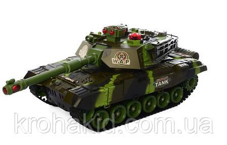 Игрушечный танк на радиоуправлении WAR TANK NO на аккумуляторе со звуком и светом 0139, фото 2