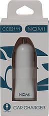 Автомобильное зарядное устройство Nomi CC02111 Белый, фото 3