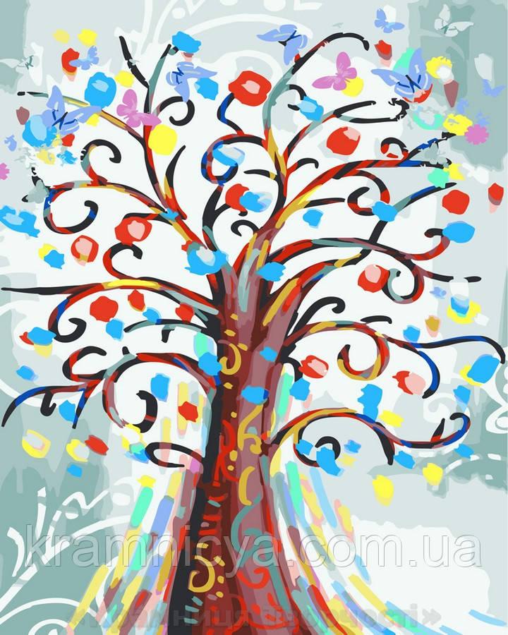 Картина по номерам 40х50 Цветущее дерево (GT61050)