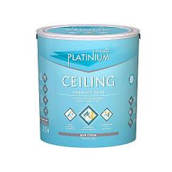 Фарба акрилова для стель Sniezka PLATINIUM  CEILING сніжно-біла МАТОВА 10л/14 кг