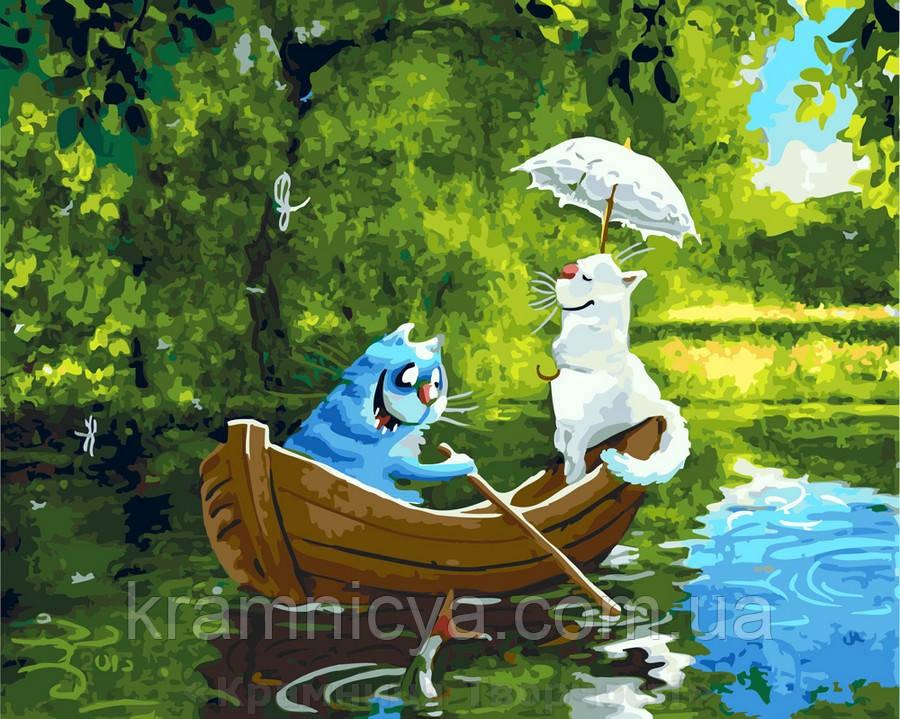 Картина по номерам 40х50 Свидание на озере (GX5572)
