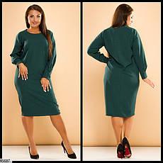 Платье женское демисезонное размеры: 50-56, фото 2