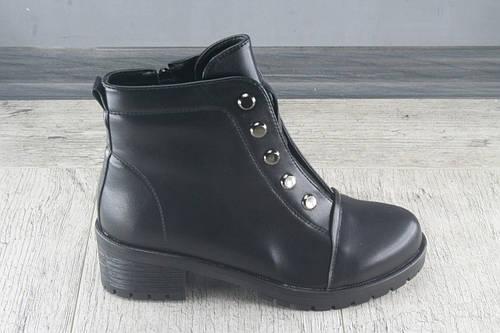 Ботинки, ботиольоны демисезонные Fugu, обувь женская из эко кожи, Размеры 36-41