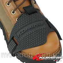 Накладка на ботинок (протектор) komine. Защита ботинка  от износа лапкой КПП.