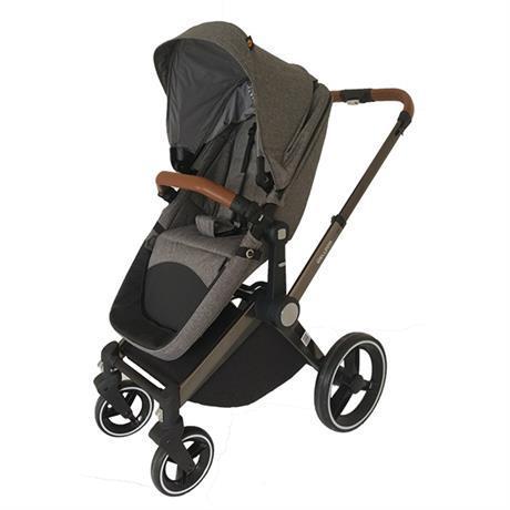 Дитяча коляска 2 в 1 (сірий)