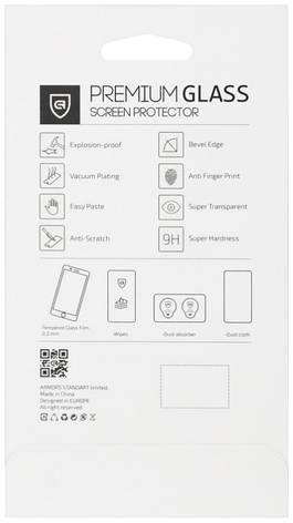 Захисне Скло ArmorStandart для Samsung J330 J3(2017) Full-Screen ser. Прозоре/чорний, фото 2