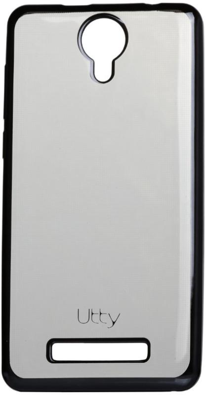 Чехол накладка Utty для Nomi ECi5010 / i5010 Electroplating TPU case Прозрачный / серый