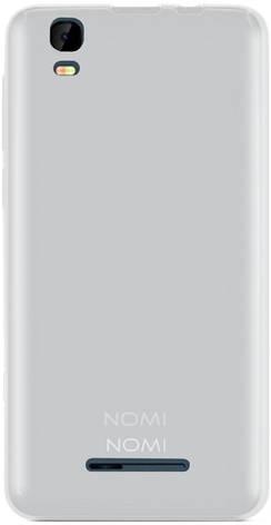 Чехол накладка Nomi для Nomi TCi5011 TPU case Прозрачный / матовый (215257), фото 2