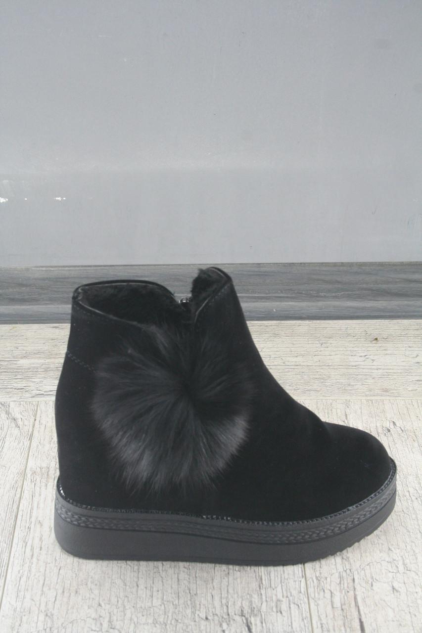Ботинки, сникерсы на танкетке в стиле Veagiа, обувь женская, демисезонная, Размеры: 36-40