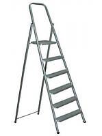 Лестница стремянка 6ст метал.окрашеная Евроголд