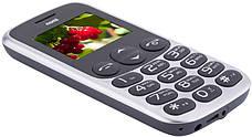 Мобільний телефон Nomi i177 Metal Grey (Сірий), фото 3
