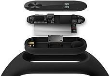 Фітнес-Браслет Xiaomi Mi Band 2 (XMSH04HM) Чорний, фото 3