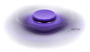 Спиннер Star Fidget 001 Фиолетовый (993282), фото 2