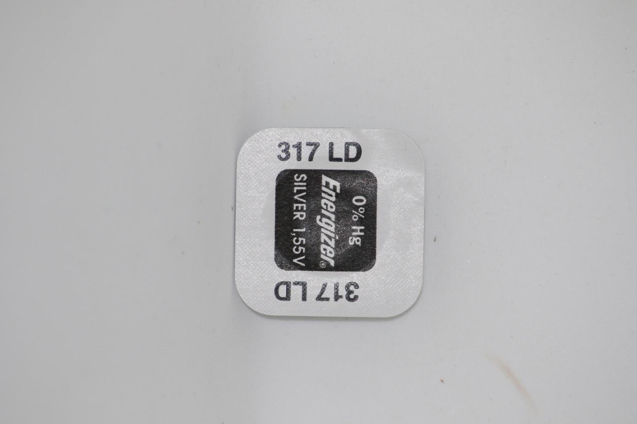 Батарейка для часов. EnergizerSR516SW (317) 1.55V 11,5mAh 5.8x1,65mmЦена указана за одну батарейку