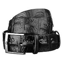 Ремень мужской SHVIGEL 15270 кожаный Черный, фото 1
