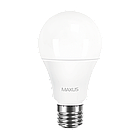 LED-лампа MAXUS A60 10W теплый свет E27 (1-LED-561-P), фото 2