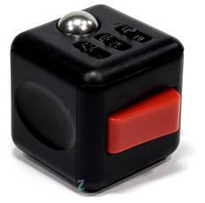 Кубик-антистресс Spinner Fidget Cube Черный, фото 2