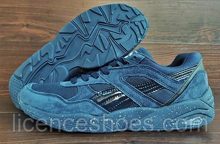 Топ продаж Синие мужские кроссовки Fenty Puma Trinomic. Последняя пара 43 44  на стопу 27.5 до 9fd469e9ed1