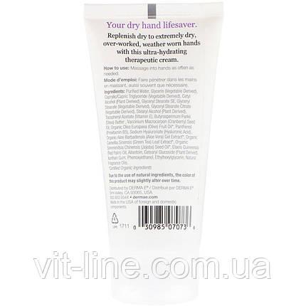 Derma E. Крем для рук с витамином Е., фото 2