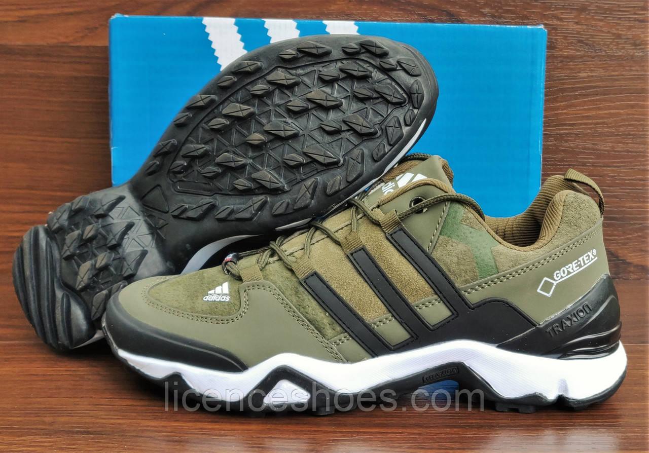 62f6c0890 РАСПРОДАЖА. Зеленые хаки мужские кроссовки Adidas Terrex. Последняя пара  40/41- стелька