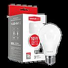 LED-лампа MAXUS A60 10W теплый свет 220V E27 (1-LED-561-01), фото 2