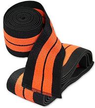 Бинти на коліна для пауерліфтингу, Titan Titanium, High Perform Knee Wrap, 2 метра