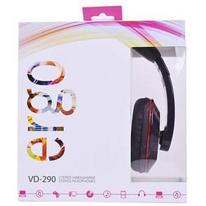 Навушники ERGO VD-290 Black, фото 2