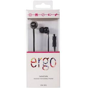 Навушники ERGO VM-901 Black, фото 2