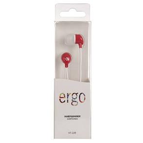 Наушники ERGO VT-229 Red, фото 2