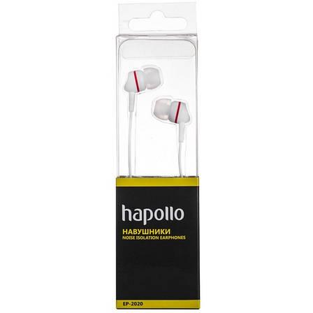 Наушники HAPOLLO EP-2020 White, фото 2
